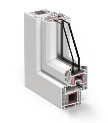 Sistema A 70 Abisagrada - PVC